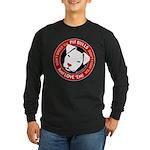 Pit Bulls: Just Love 'Em! Long Sleeve Dark T-Shirt