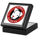 Pit Bulls: Just Love 'Em! Keepsake Box