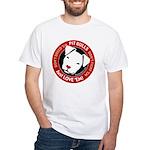Pit Bulls: Just Love 'Em! White T-Shirt