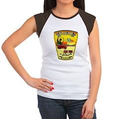 Iraq Military Fire Dept Women's Cap Sleeve T-Shirt