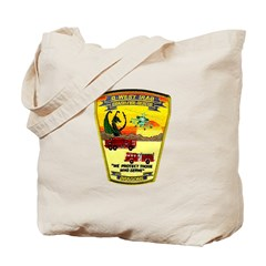 Iraq Military Fire Dept Tote Bag