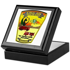 Iraq Military Fire Dept Keepsake Box