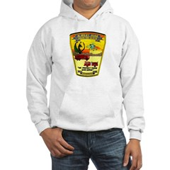 Iraq Military Fire Dept Hoodie