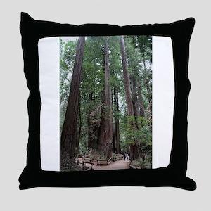 Muir Woods, California Throw Pillow