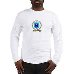DESCHENES Family Crest Long Sleeve T-Shirt