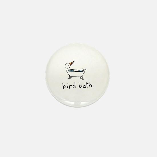 Bird Bath Mini Button