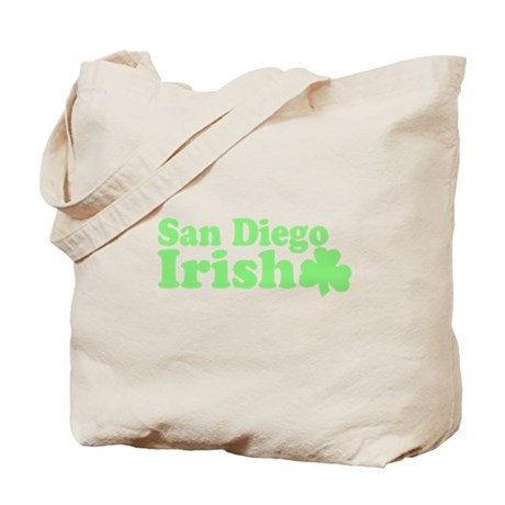 San Diego Irish Tote Bag