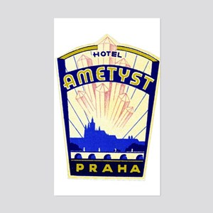 Hotel Ametyst (Prague) Luggage Sticker (UnCut)