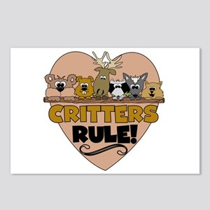 Critters Rule Postcards (Package of 8)