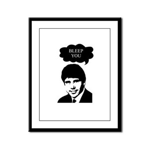 Rod Blagojevich - Bleep You Framed Panel Print