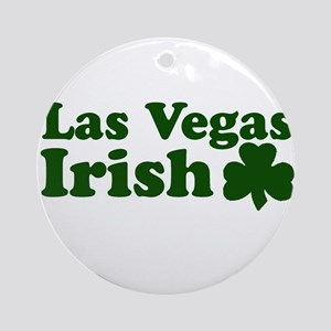 Las Vegas Irish Ornament (Round)