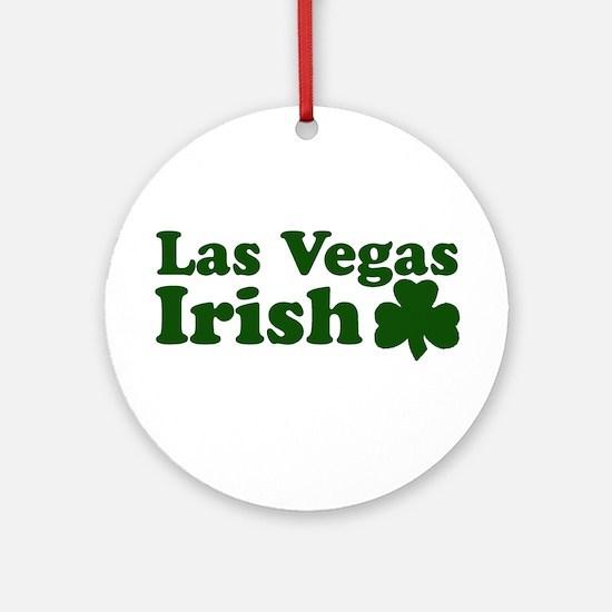 Las Vegas Irish Ornament (Round)