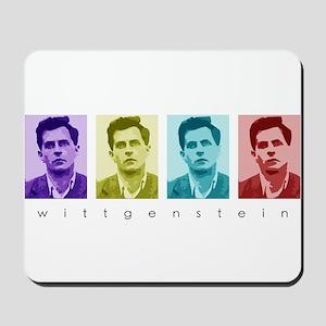 Wittgensteins (in Color) Mousepad