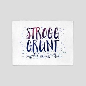 Strogg Grunt 5'x7'Area Rug