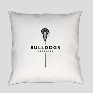Bulldogs Lacrosse Everyday Pillow