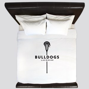 Bulldogs Lacrosse King Duvet