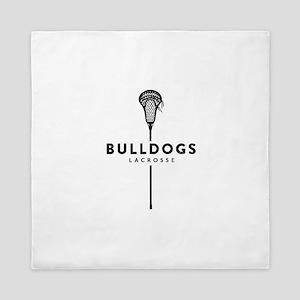 Bulldogs Lacrosse Queen Duvet