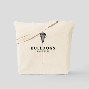 Bulldogs Lacrosse Tote Bag