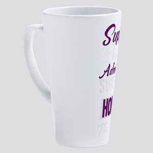 Support The Fighter Admire The Sur 17 oz Latte Mug
