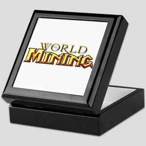 World of Mining Keepsake Box