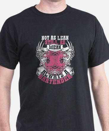 Funny Not as lean%2c not as mean but still a marine T-Shirt