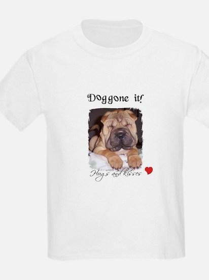 SWEET DOG LOOK  Kids T-Shirt