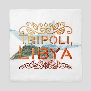 Tripoli, Libya Queen Duvet
