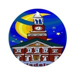 Starry Night Philadelphia Ornament (Round)