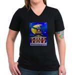 Love Pennsylvania Women's V-Neck Dark T-Shirt