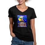 Love Pennsylvania Women's V-Neck Dark T-Shirt