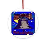 Starry Night Philadelphia Ornament (Round)