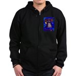 Starry Night Philadelphia Zip Hoodie (dark)