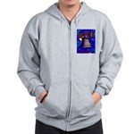 Starry Night Philadelphia Zip Hoodie