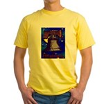 Starry Night Philadelphia Yellow T-Shirt