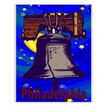Starry Night Philadelphia Small Poster