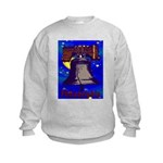 Starry Night Philadelphia Kids Sweatshirt