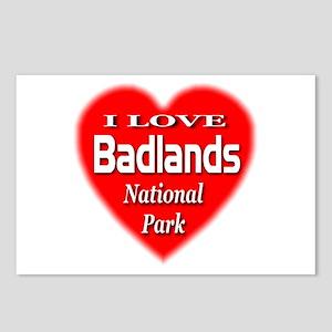 Badlands NP Postcards (Package of 8)