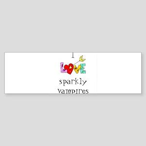 Twilight Sparkly Vampire Bumper Sticker