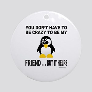 BFF/BEST FRIEND Ornament (Round)
