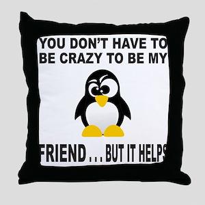 BFF/BEST FRIEND Throw Pillow