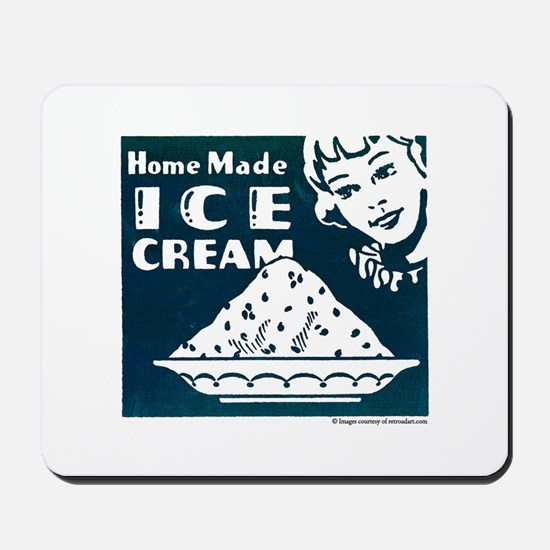 Home Made Ice Cream Mousepad