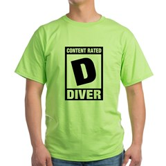 https://i3.cpcache.com/product/345031582/rated_d_diver_tshirt.jpg?side=Front&color=Green&height=240&width=240