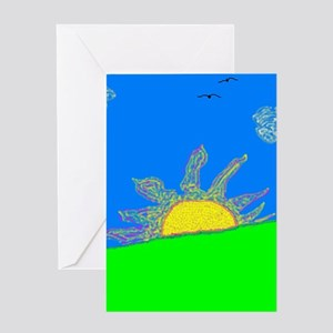 """""""Today Is A New Day"""" Greeting Card"""