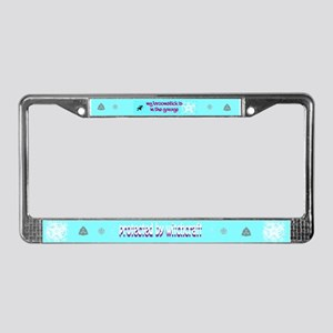 Witch's License Plate Frame