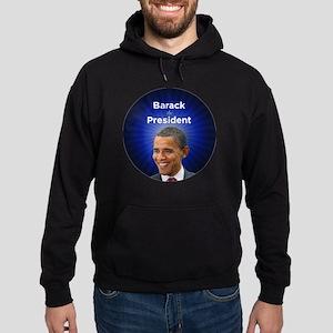Barack the President Hoodie (dark)
