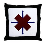 The Mourning Sickness Throw Pillow