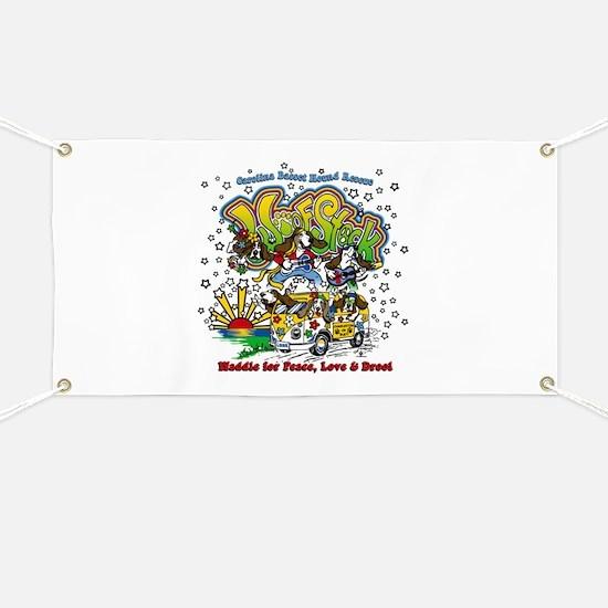 Cool Basset hounds Banner
