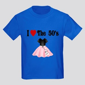 I love the 50's Kids Dark T-Shirt