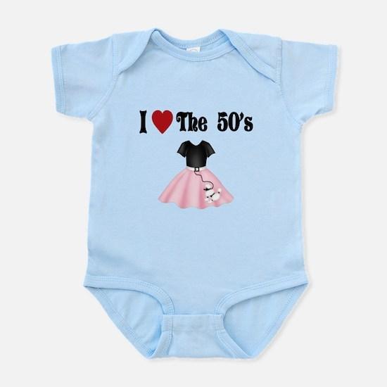 I love the 50's Infant Bodysuit