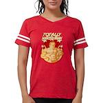 Totes Vintage Women's Football T-Shirt